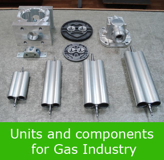 Units and components for Gas Industry